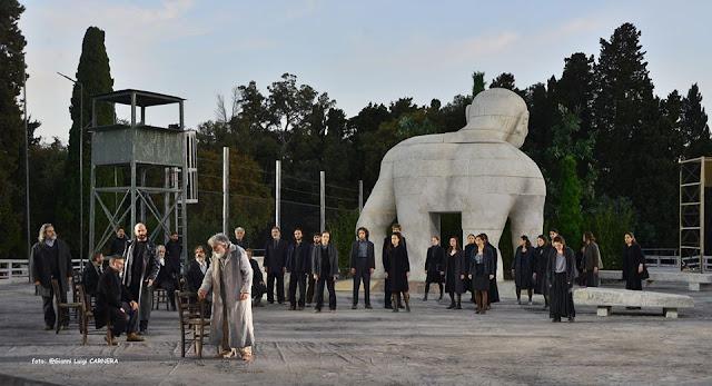 «Οιδίπους επί Κολωνώ» του Σοφοκλή στο Αρχαίο Θέατρο Επιδαύρου 17 - 18 Αυγούστου