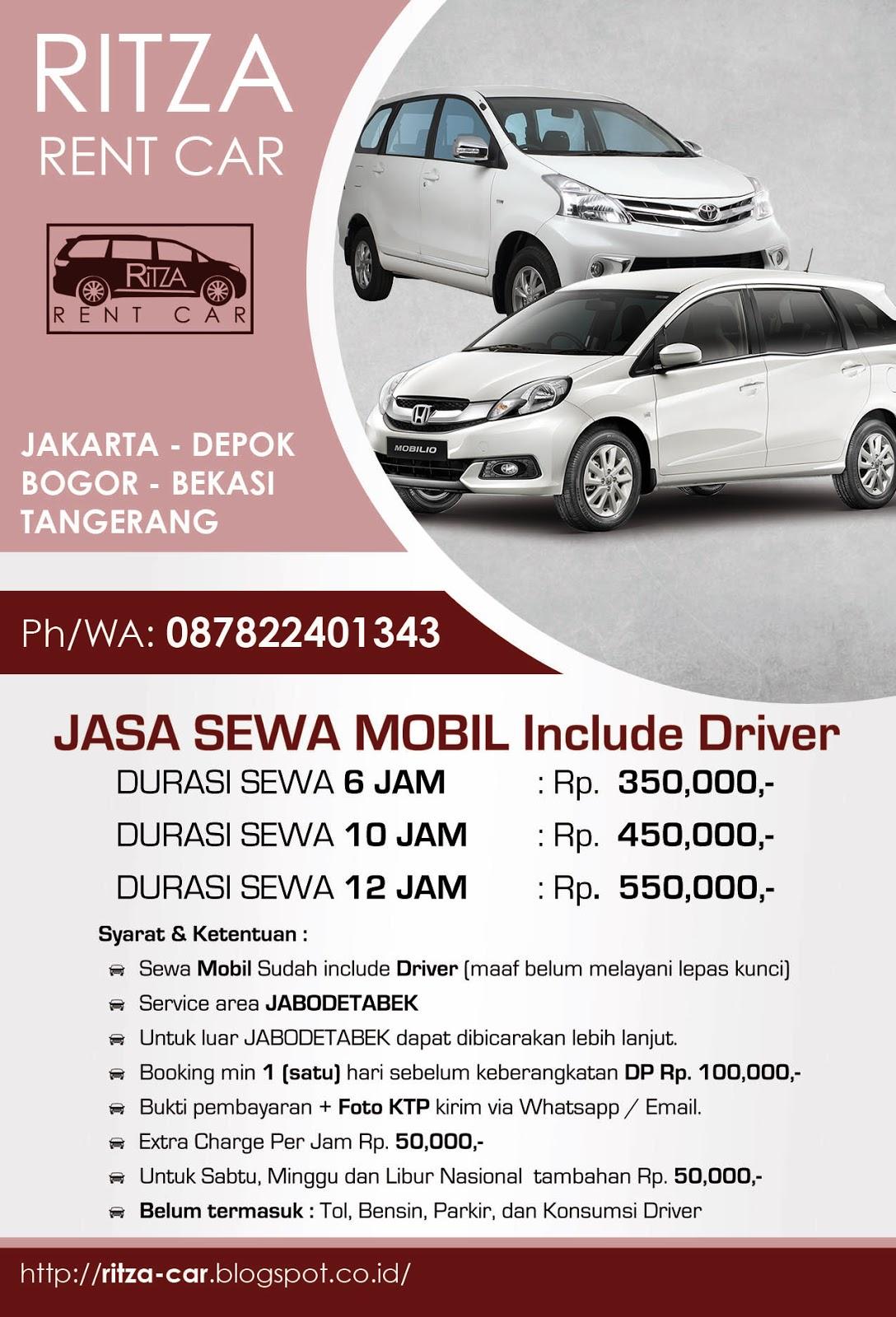 Rental Mobil Harian Di Jakarta Selatan Sewa Mobil Murah Di Jakarta