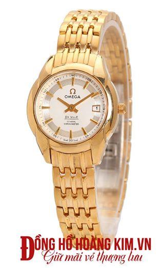 Đồng hồ nữ Omega.