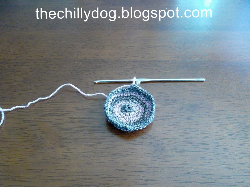 Crocheted Hacky Sack Pattern The Chilly Dog