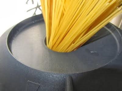 Espaguetis con almejas Thermomix