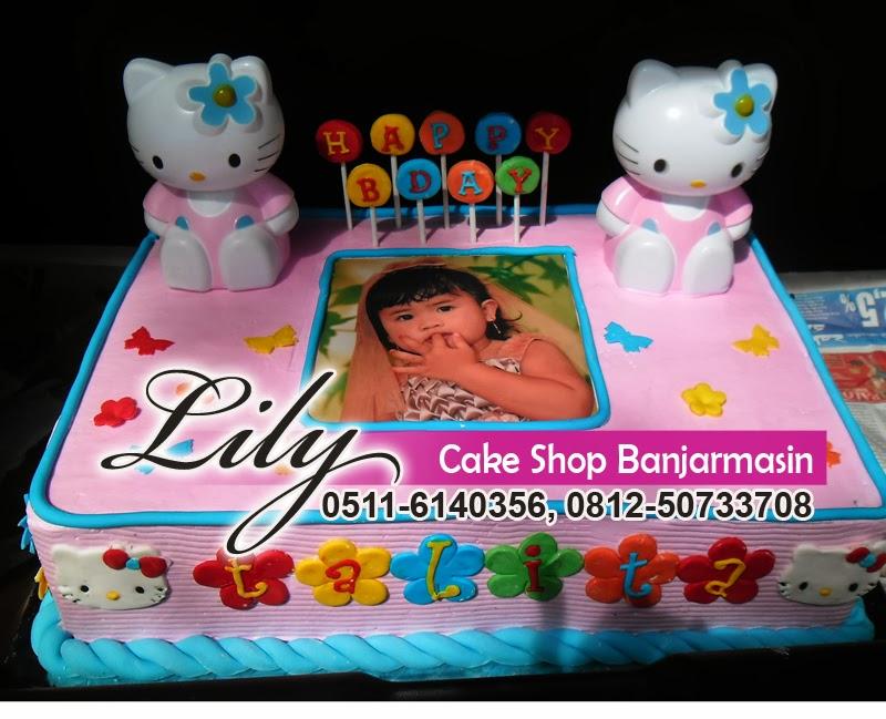 Lily Cake Shop Banjarmasin Kue Ultah 30 X 40 Cm 30 X 60