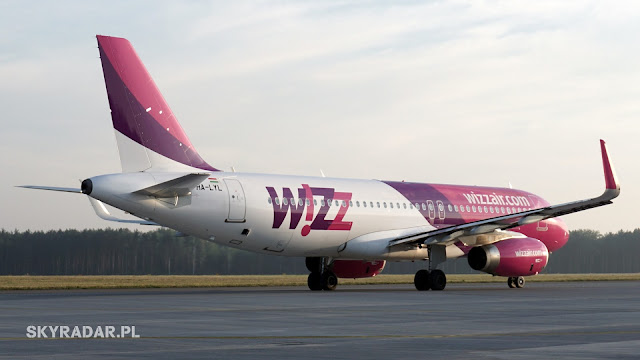HA-LYL - Airbus A320 -  Wizz Air