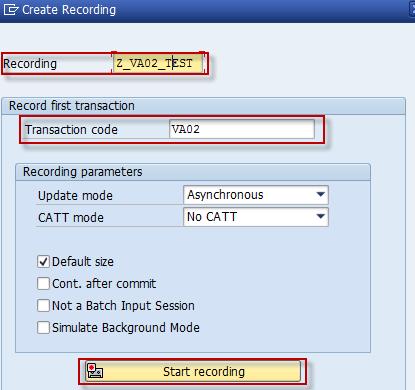 Call Transaction in BDC - SAP Integration Hub