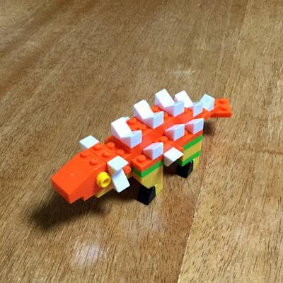 ナノブロックプラス PBH-003 アンキロサウルス