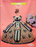 Vestido de Baile de Crochê Para Barbie - Flower Garden Collector - Annie Potter