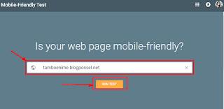 Cara Mudah Menguji Blog Sudah Mobile Friendly Atau Belum