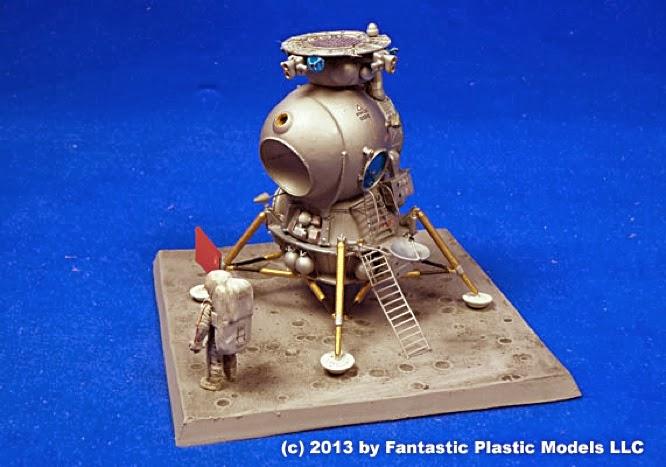 Scale Model News: INCOMING: SECRET SOVIET LUNAR SPACECRAFT ...
