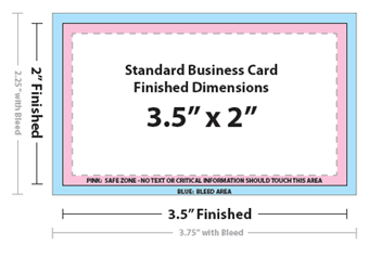 Standard Business Card Dimensions International Paper Sizes Formats