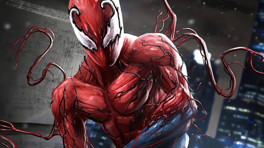 Spider-Man, Toxin, Symbiote, Suit, 4K, #6.2165