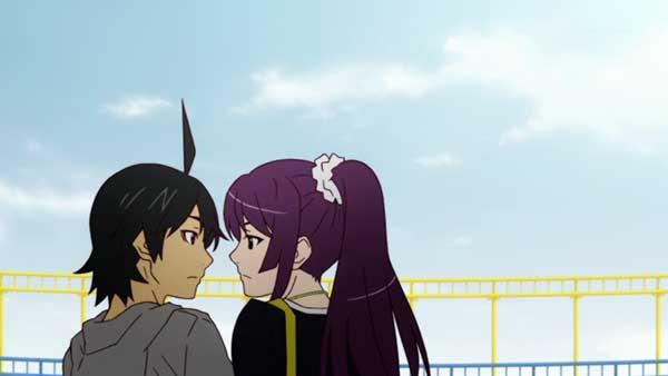 10 pasangan anime terbaik versi Charapedia - Koyomi Araragi x Hitagi Senjougahara (Seri monogatari)