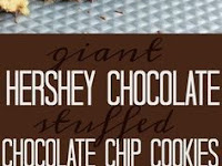 GIANT CHOCOLATE STUFFED CHOCOLATE CHIP COOKIES