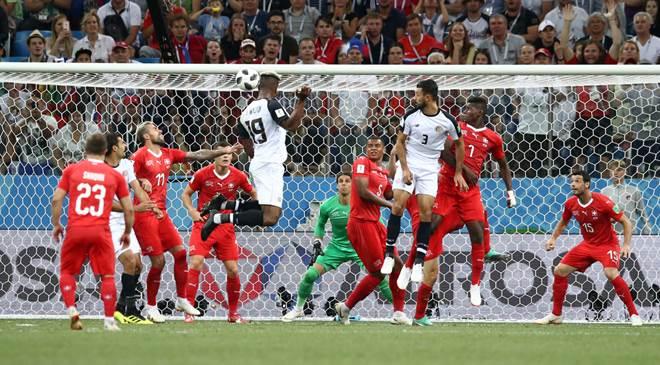 Hasil Pertandingan Swiss vs Kosta Rika - Piala Dunia 2018