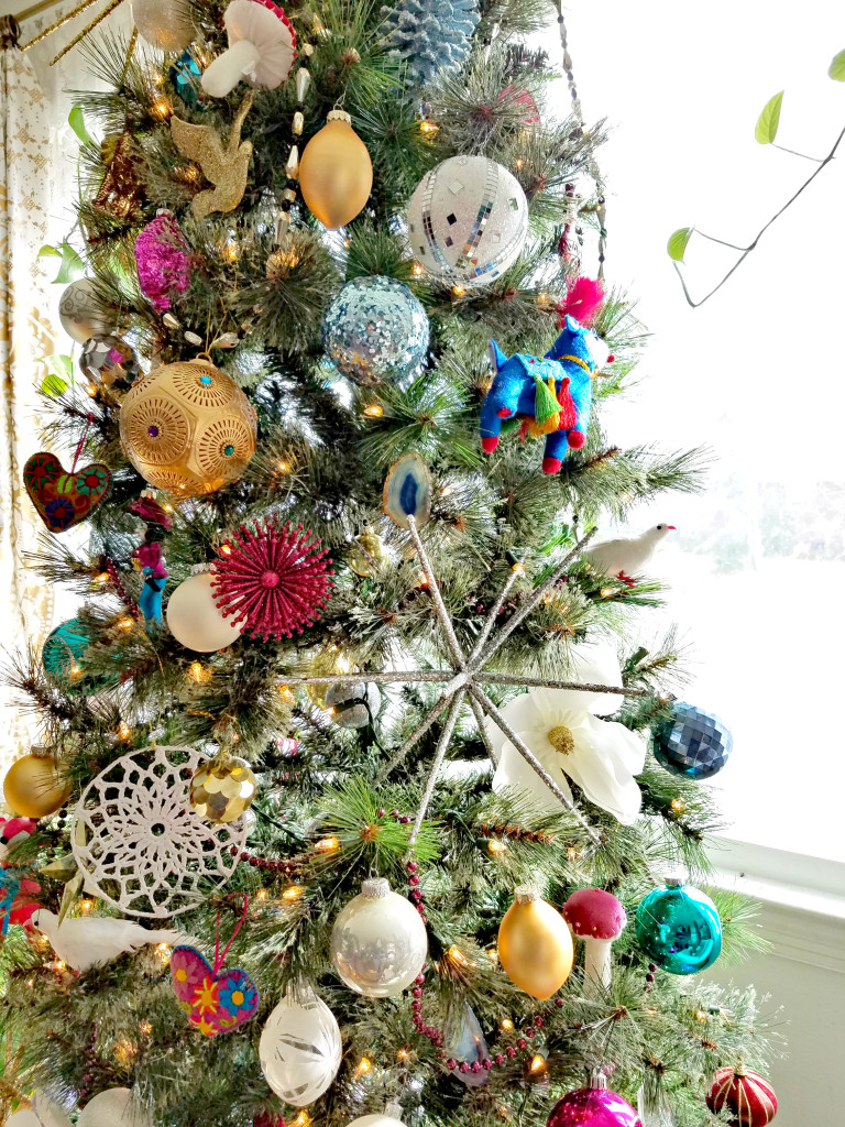 Whimsical Christmas Ornaments.My Home Style Whimsical Christmas Tree The Boho Abode