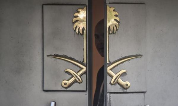 ضمن تحقيقات قضية خاشغجي، تركيا تتفقد القنصلية السعودية في اسطنبول.