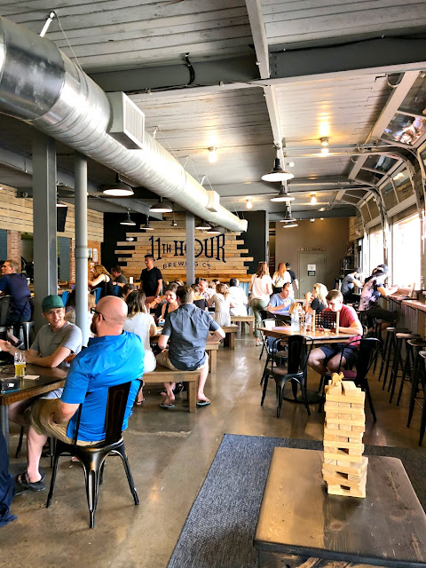 Located in what was once a former schoolhouse for German immigrants in the Lawrenceville neighborhood of Pittsburgh, 11th Hour Brewing Company boasts a 20 barrel brewhouse & a 1200 square foot tap room.