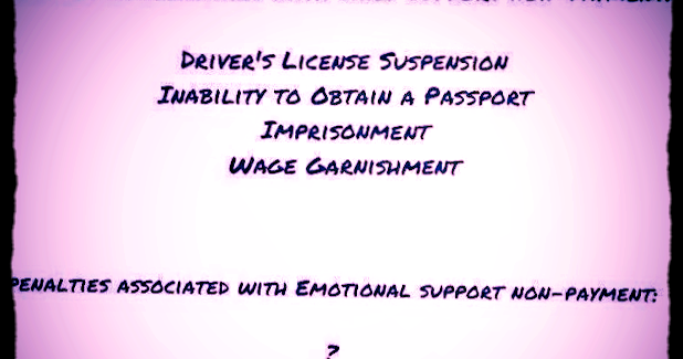 Child Support Rules ~ Biased Against Fathers?