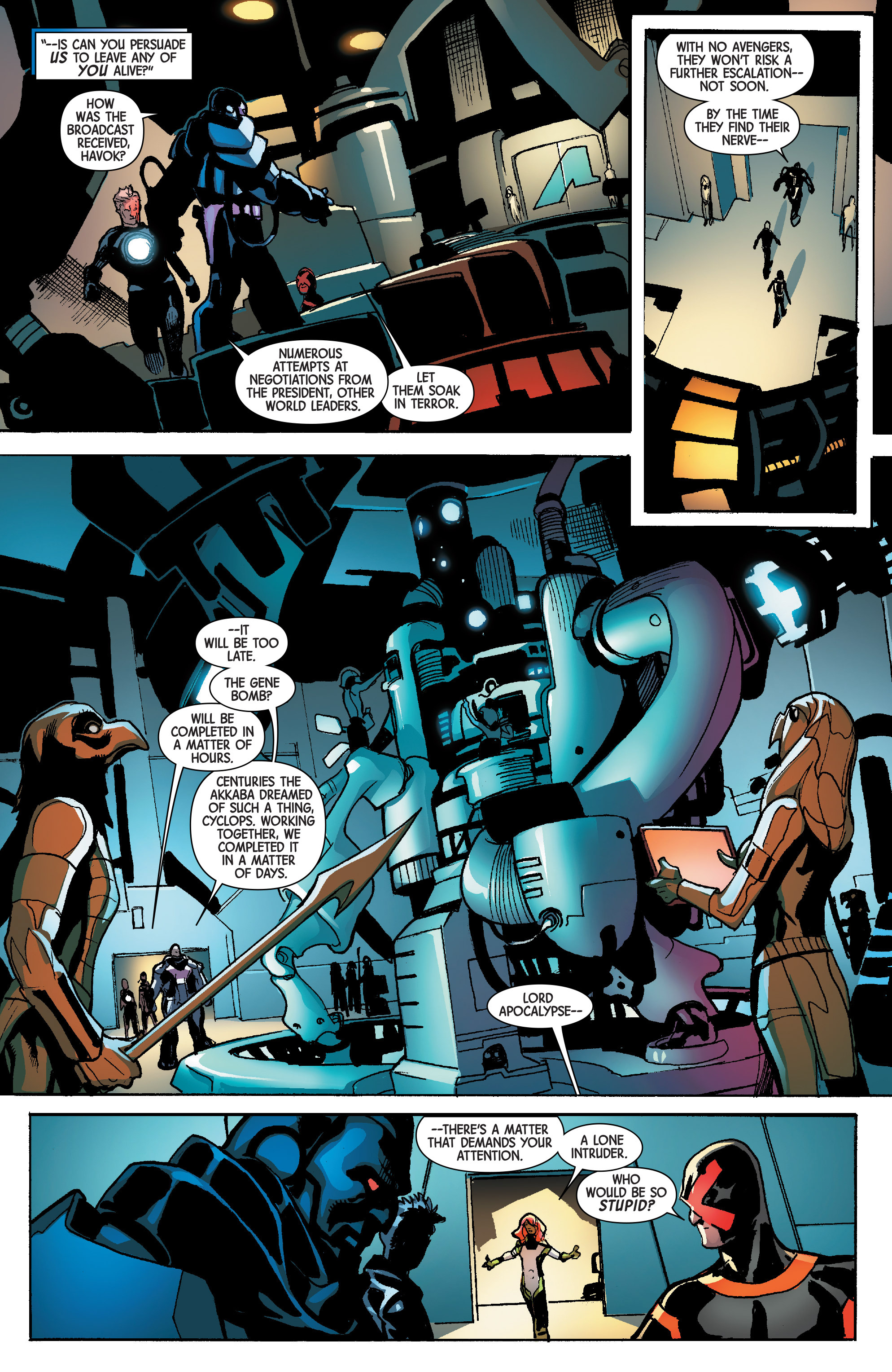 Read online Avengers & X-Men: AXIS comic -  Issue #6 - 6