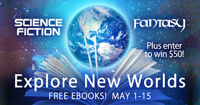 Explore New Worlds Science Fiction + Fantasy Book Giveaway
