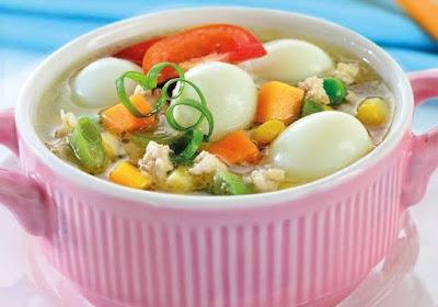 Resep Masakan Sup Tahu Telur