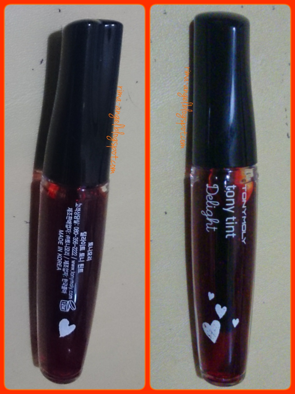 Web Versi Mobile Tony Moly Delight Lip Tint Liptint Yang Akan Saya Bahas Ini Dari Dengan Nama Warna Orange