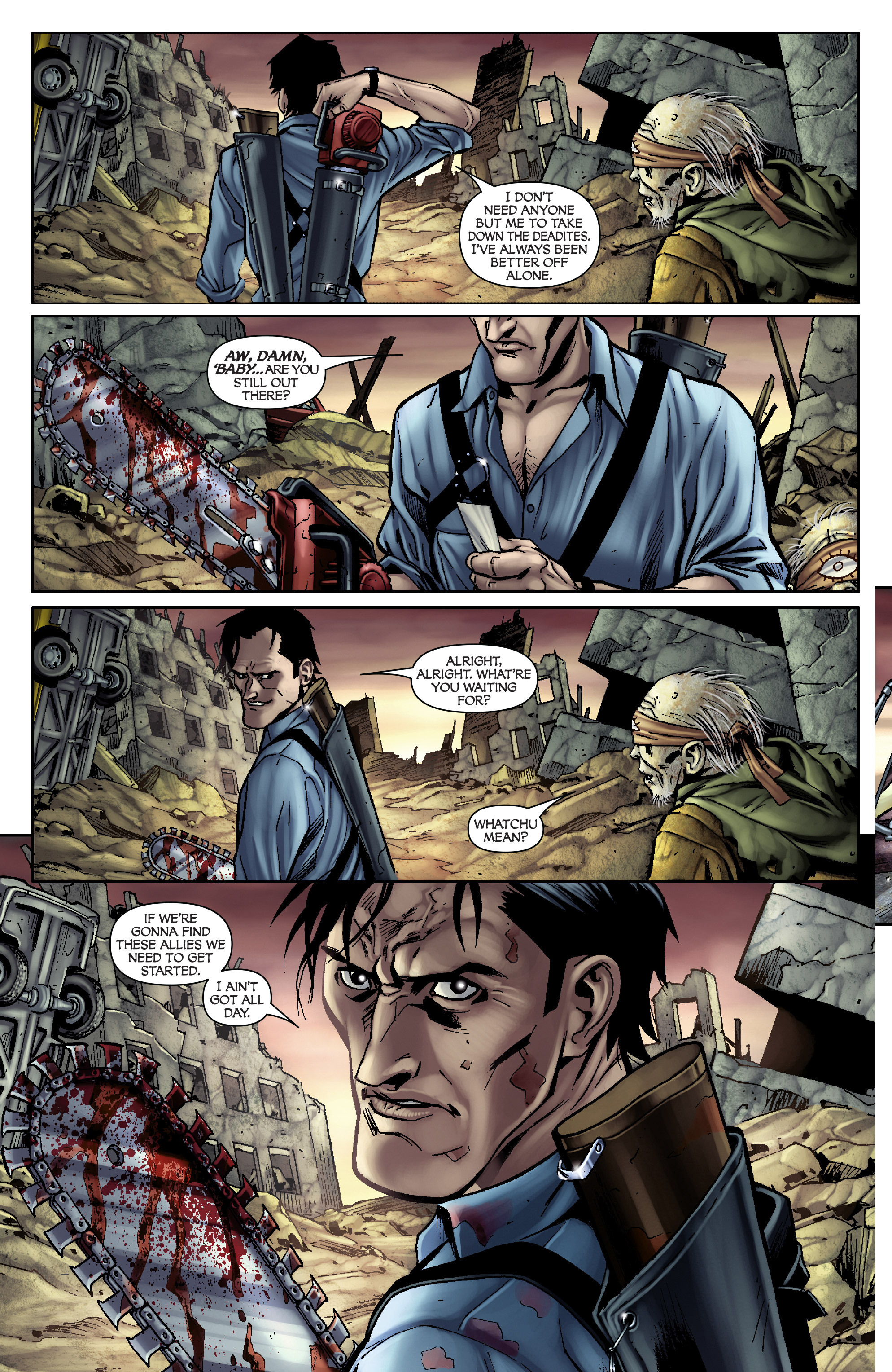 Read online Army of Darkness: From the Ashes comic -  Issue #Army of Darkness: From the Ashes TPB - 27