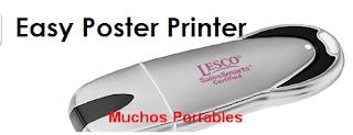 Easy Poster Printer Portable