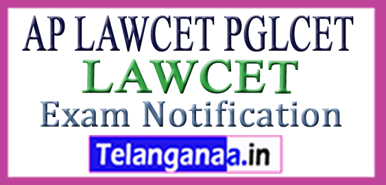 AP LAWCET Notification 2018 Online Application Hall Tickets Results