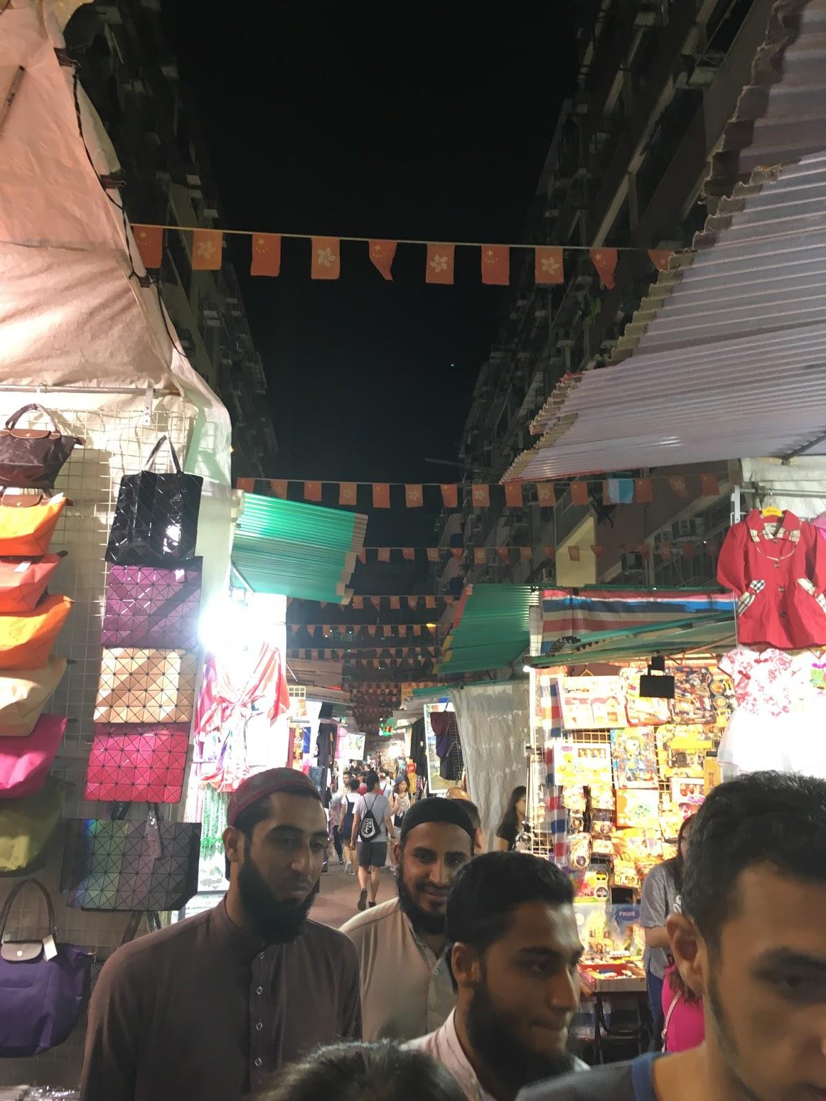 Temple utcai éjszakai piac