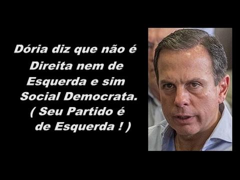 9 pontos que mostram que João Doria não é de Direita, e sim Socialista Fabiano