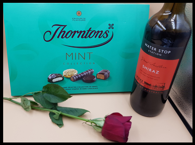 Red wine and mint chocolates are my favourite gifts