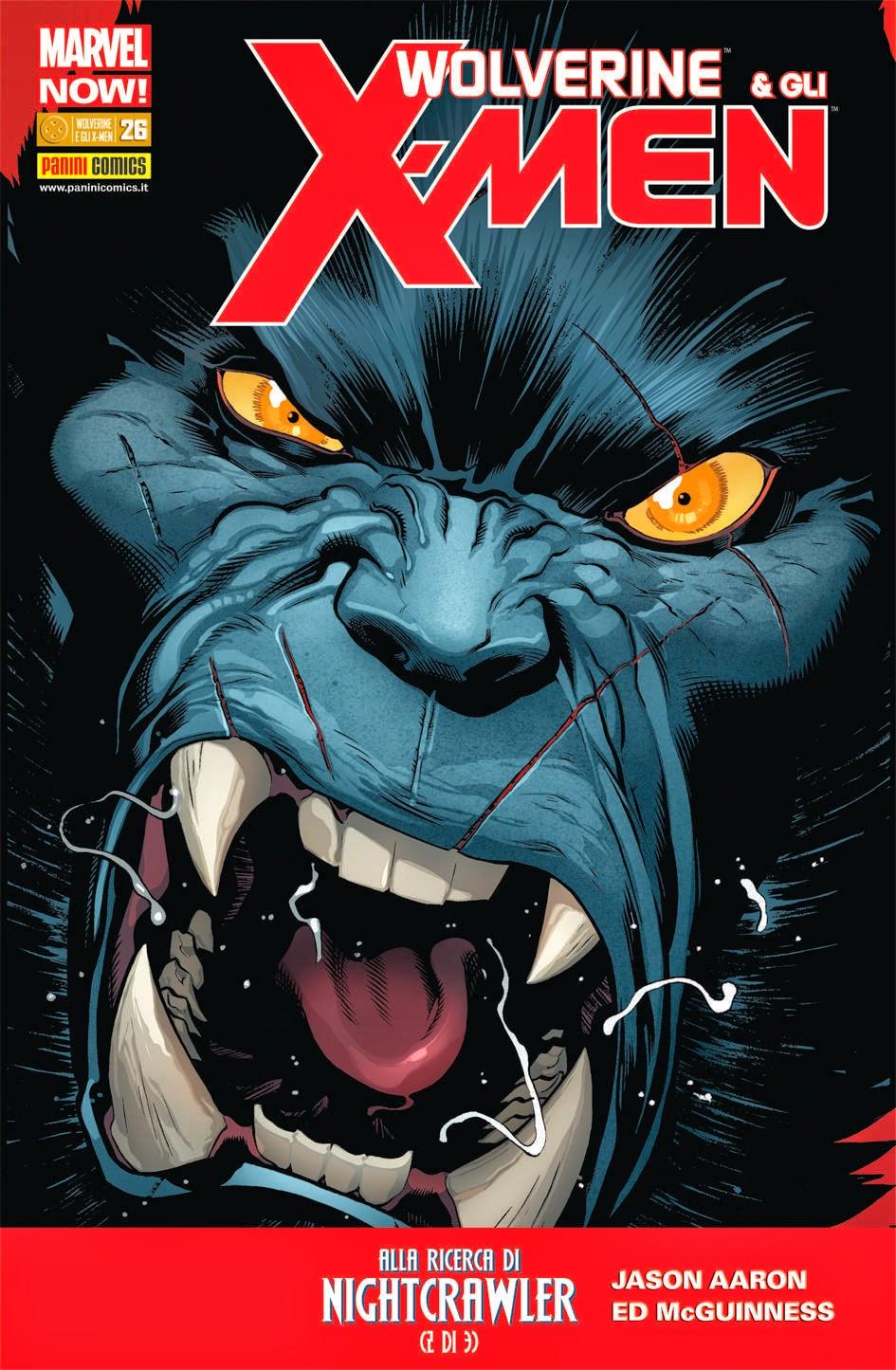 Wolverine e gli X-men 26 Panini Comics