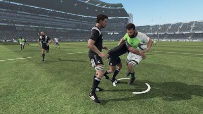 صورة  لتجربة العبة Rugby الدوري الأصعب 3 في جهاز الحاسوب