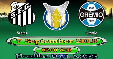 Prediksi Bola855 Santos vs Gremio 7 September 2018