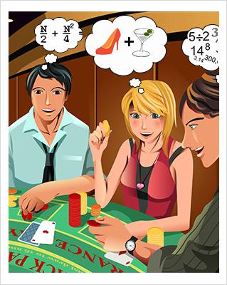Contar cartas blackjack casino