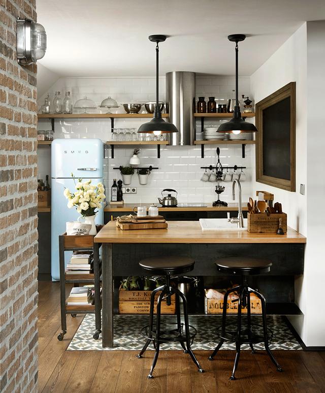 25 ideas para una cocina de estilo industrial cocinas - Estilos de cocinas ...