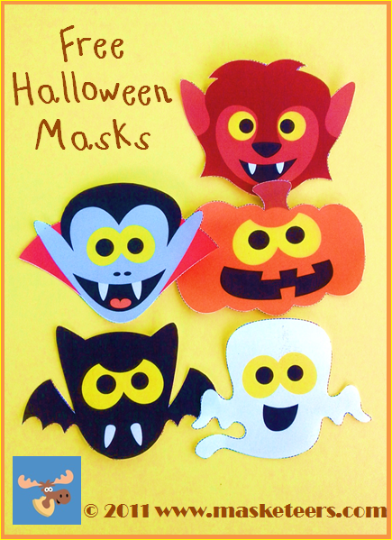 Halloween Masks for kids free