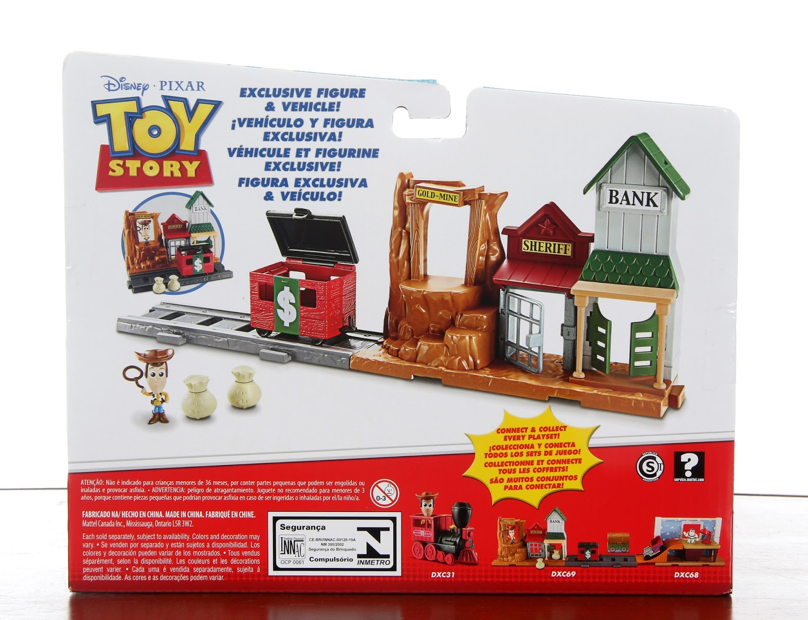 ... mattel toy story minis playsets western adventure 8d431f5d373