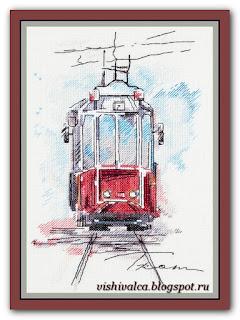 """Panna GM-1923 """"Городской трамвай"""""""