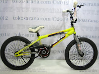 1 Sepeda BMX Pacific Hot Shot Free Style 20 Inci