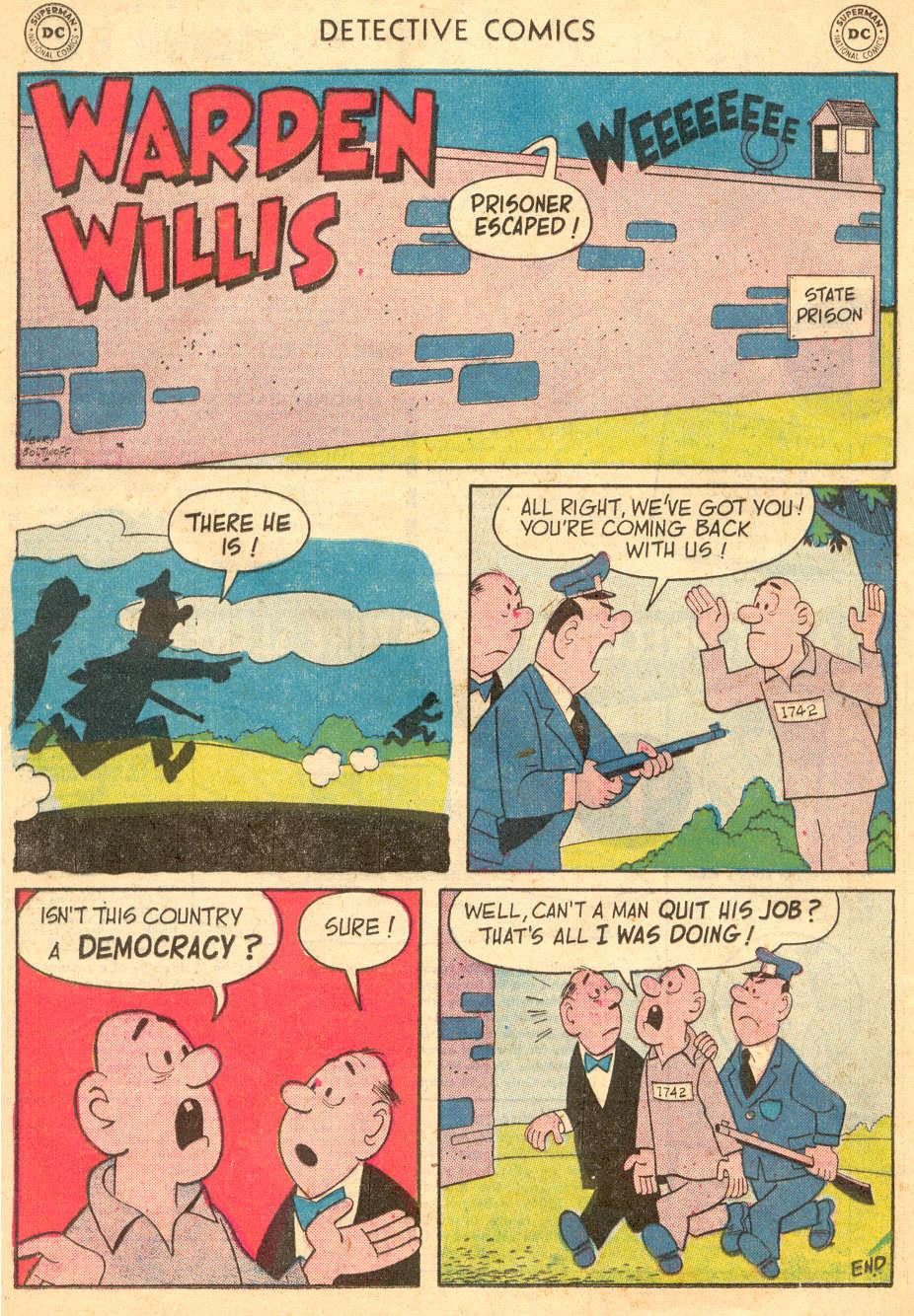 Read online Detective Comics (1937) comic -  Issue #242 - 24