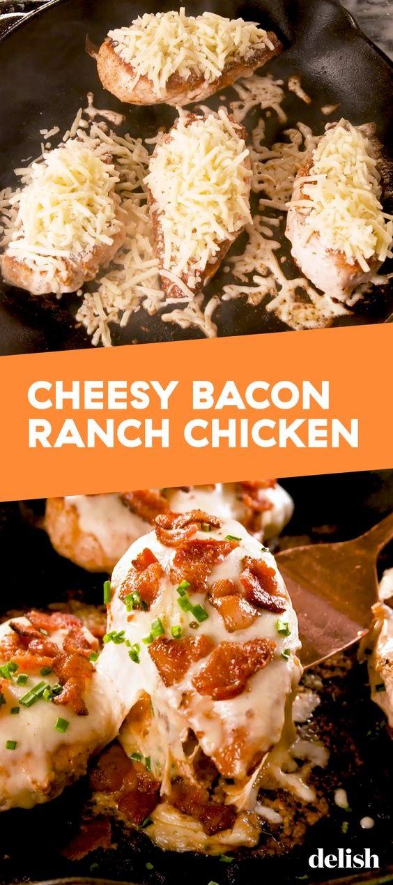 Cheesy Bacon Ranch Chicken