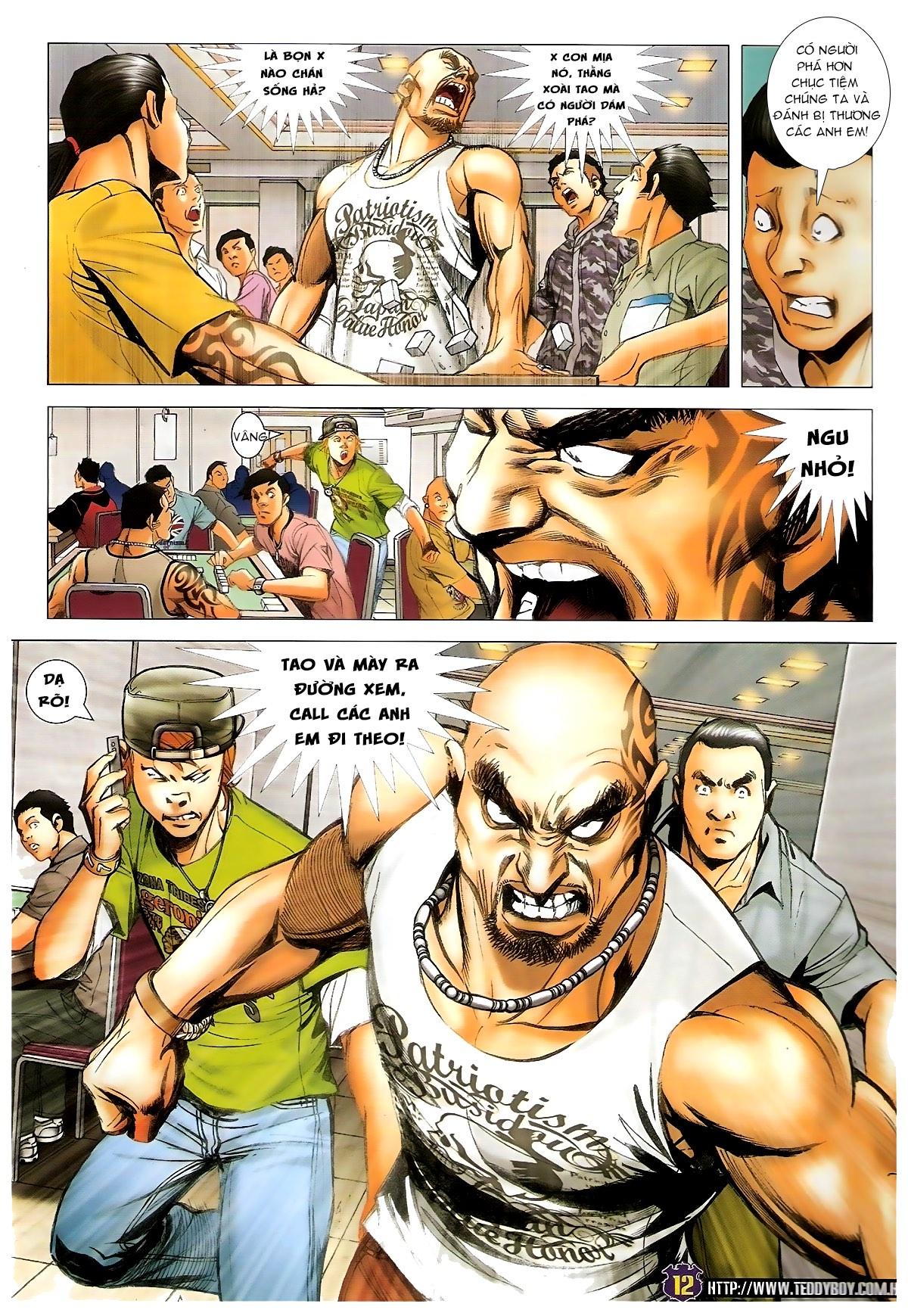 Người Trong Giang Hồ - Chapter 1438: Tứ Đại Quyền Vương - Pic 9