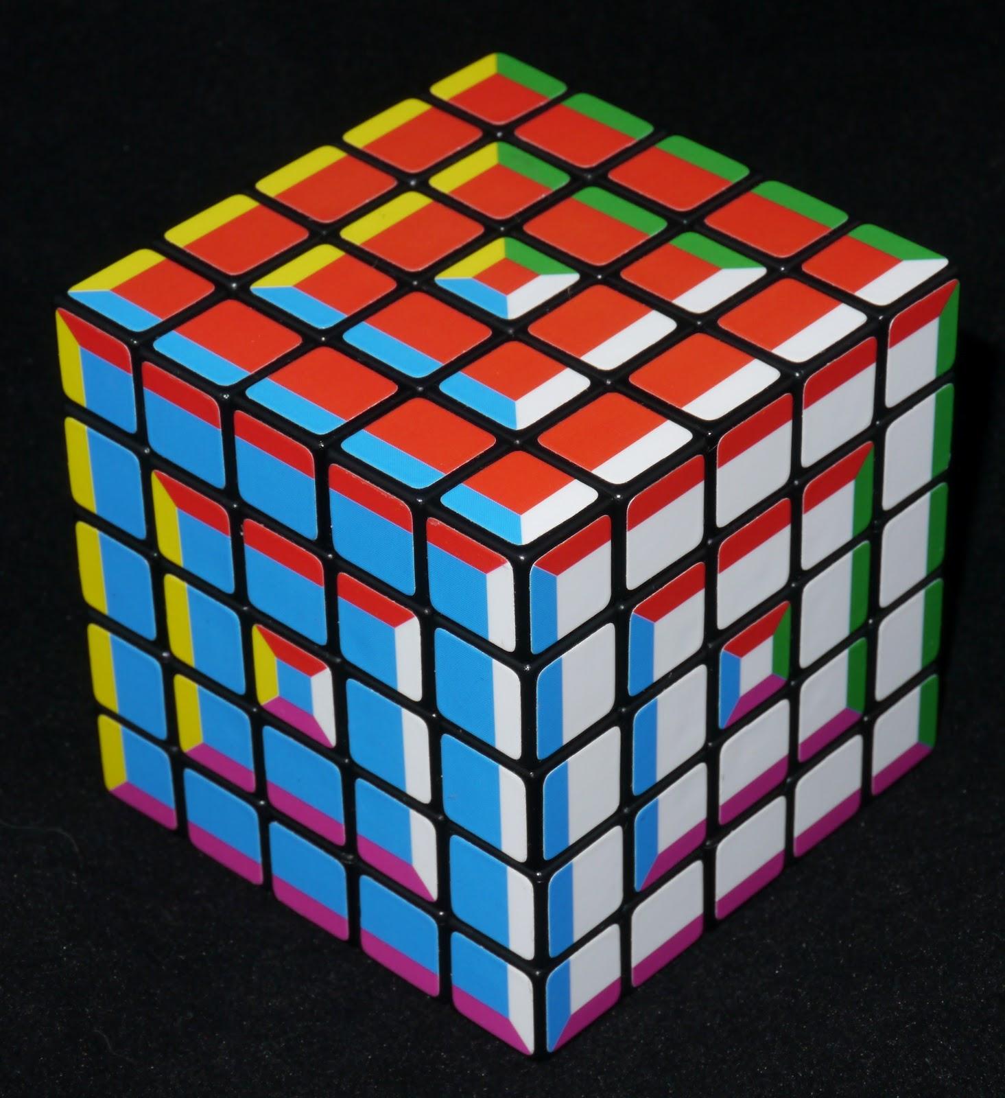 как сделать кубик рубик с фотографиями этой норме