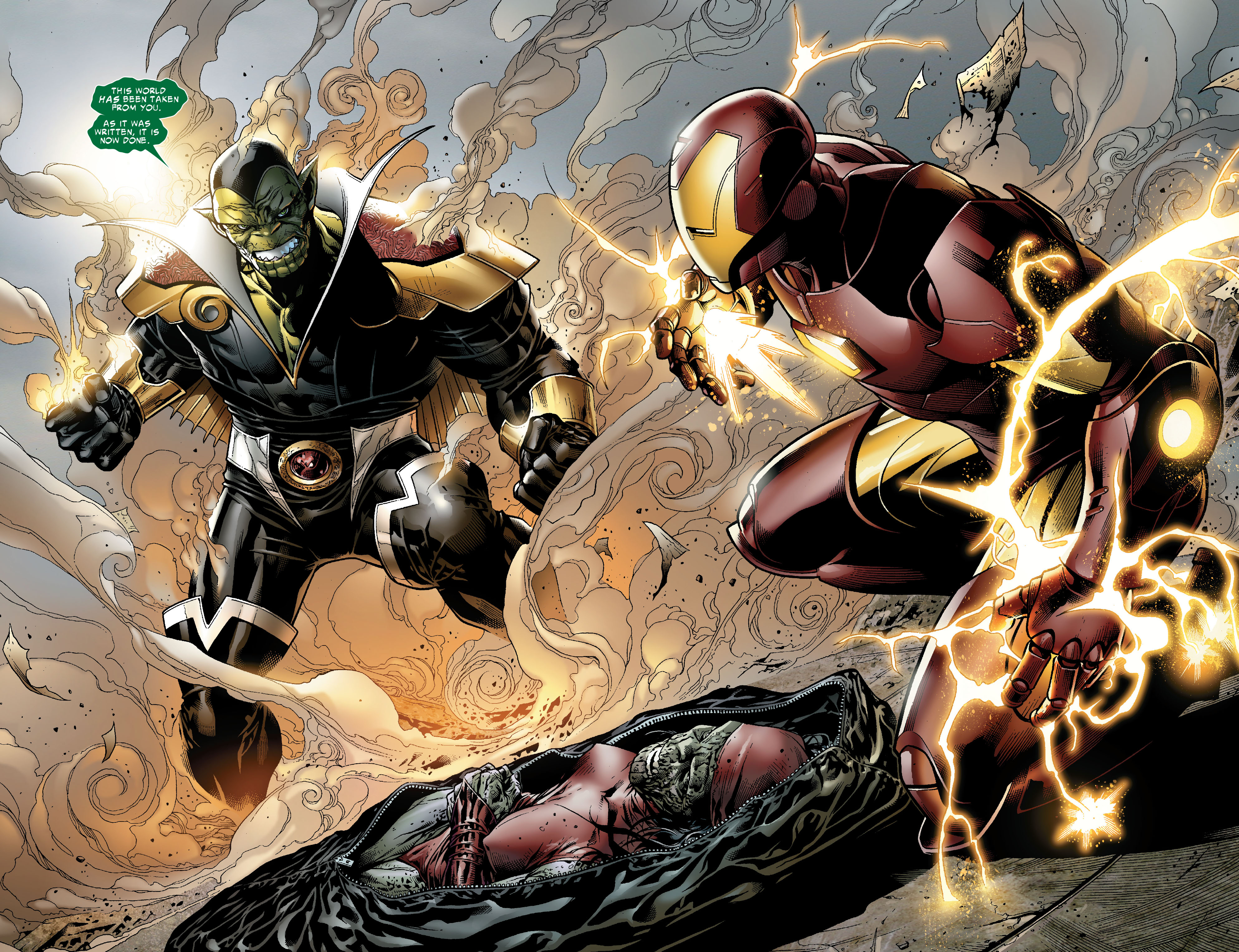 Read online Secret Invasion: The Infiltration comic -  Issue #2 - 11