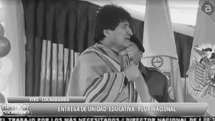 Evo Morales se enoja porque le dijeron señor