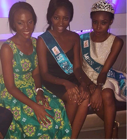 Former Miss Anambra Chidinma Okeke Spotted Last Night At Miss Nigeria Event