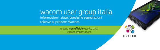 WACOM USER GROUP ITALIA su Facebook