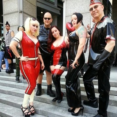 Dildo orgy slut load