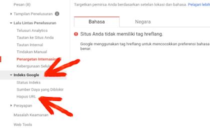 Cara Menghapus Artikel di Google Search